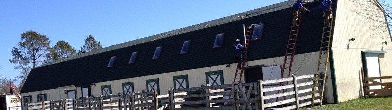 Barn with Skylights in Long Island